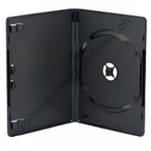 Details: DVD Video Box Slimline 7mm schwarz  (High Quality)