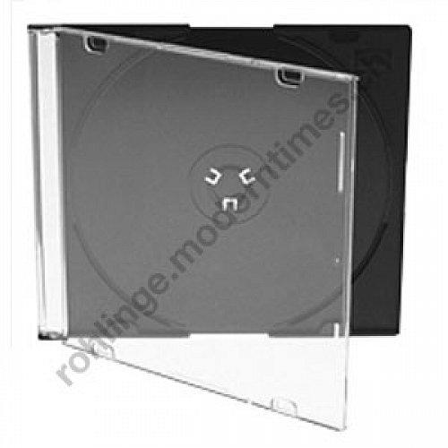 Details: Slimline-Box (Jewelbox light, 5.2mm) schwarz, 50 Stück