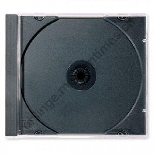 Details: Jewel-Box (Standart-CD-Hülle), mit schwarzem Tray