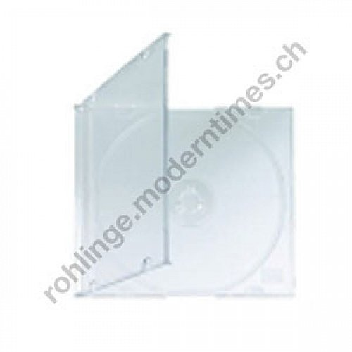 Details: Bruchsichere PP-Slimline-Box (5.2mm) transparent, 200 Stück